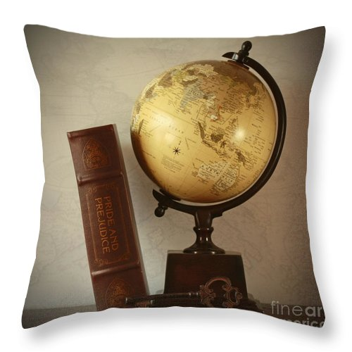 Key To Ending Global Prejudice Throw Pillow featuring the photograph Key To Ending Global Prejudice by Inspired Nature Photography Fine Art Photography