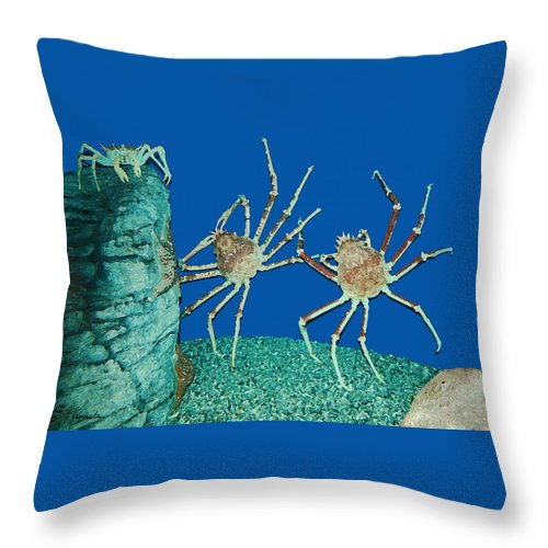 Kick Up Your Heels Throw Pillow featuring the painting Kick Up Your Heels by Ellen Henneke