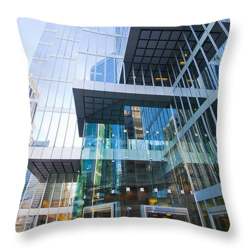 Layers Throw Pillow featuring the photograph Layers by Chris Dutton