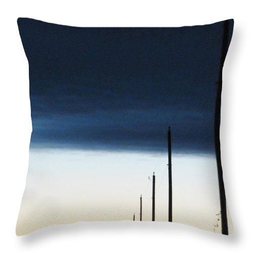 Lead On Throw Pillow featuring the photograph Lead On by Ron Tackett