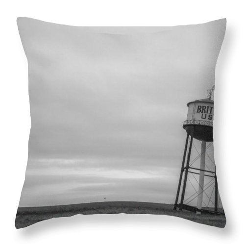 Leaning Throw Pillow featuring the photograph Leaning Tower by Jayme Spoolstra