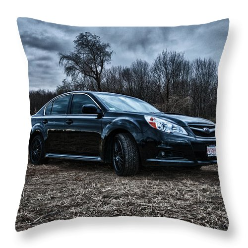Subaru Throw Pillow featuring the photograph Legacy by Ryan Crane