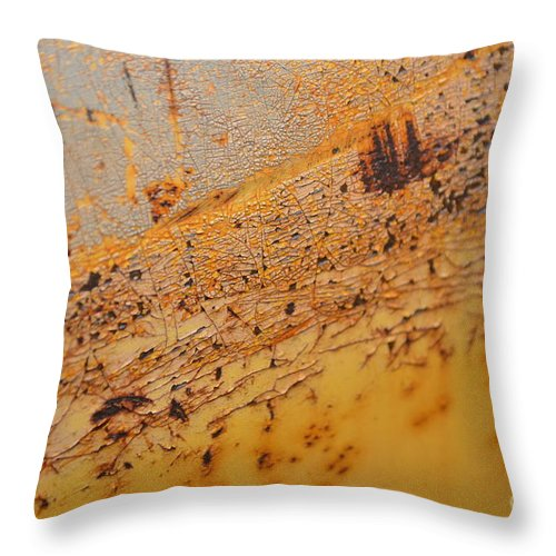 Aide Throw Pillow featuring the photograph Lemon Aide by Brian Boyle