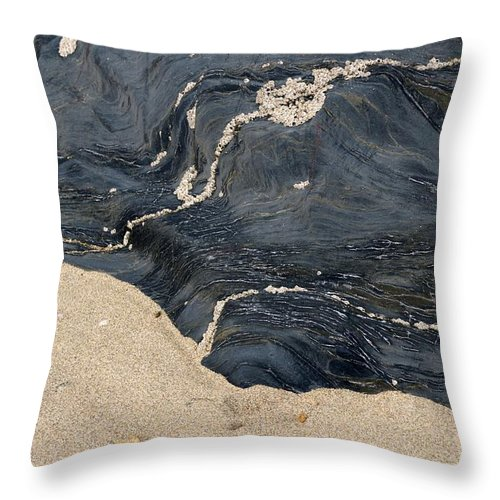 Life Throw Pillow featuring the photograph Life On The Beach by Wendy Wilton