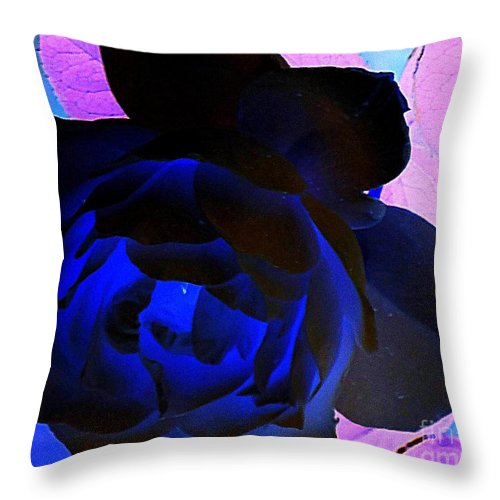 Acrylic Prints Throw Pillow featuring the photograph Light From Within by Bobbee Rickard