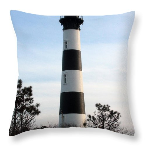 Lighthouse Throw Pillow featuring the photograph Light House 6 by Dwight Cook