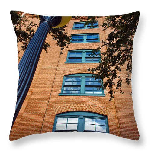 Light Throw Pillow featuring the photograph Light It Up by Brandi Christon