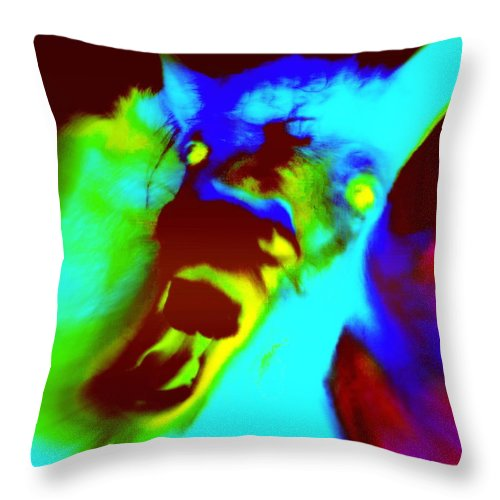 Horse Throw Pillow featuring the photograph Come On Baby Light Me Up Or Leave Me In The Darkness Forever  by Hilde Widerberg