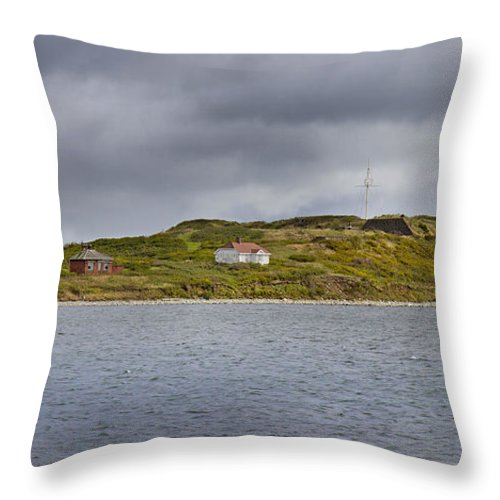 Lighthouse Throw Pillow featuring the photograph Lighthouse Island by Betsy Knapp