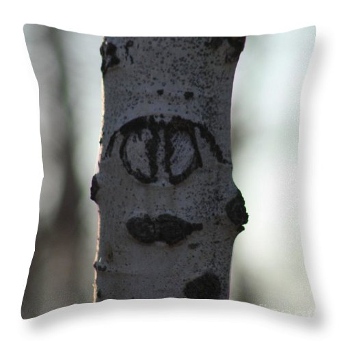 Smiley Faces Throw Pillow featuring the photograph Lips by Brandi Maher