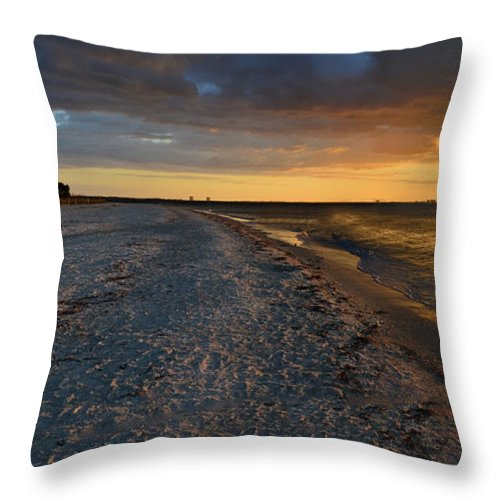 Sunrise Throw Pillow featuring the photograph Listen To The Whispers Of Nature by Melanie Moraga