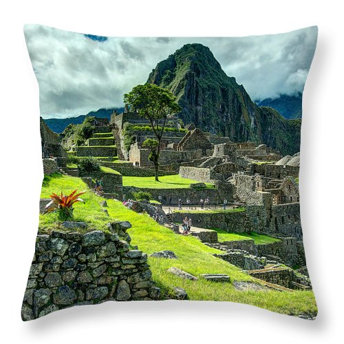Photograph Throw Pillow featuring the photograph Living High by Richard Gehlbach
