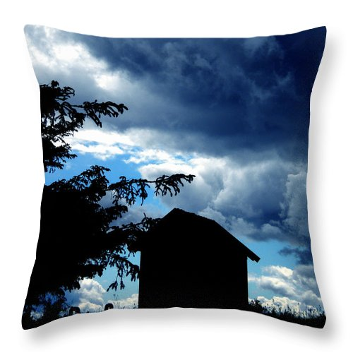 Colette Throw Pillow featuring the photograph Livoe Island Late Day Denmark by Colette V Hera Guggenheim