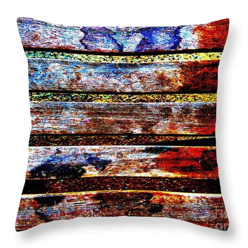 Lobster Throw Pillow featuring the photograph Lobster Trap by Tim Townsend