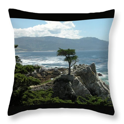 Guy Whiteley Throw Pillow featuring the photograph Lone Cyprus 1045 by Guy Whiteley