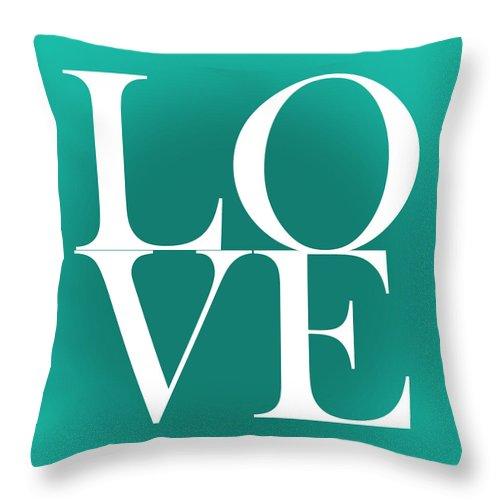 Love Throw Pillow featuring the digital art Love 4 by Mark Ashkenazi