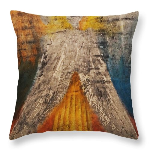Giorgio Throw Pillow featuring the painting Love And Only Love Can Make My Soul Take Flight by Giorgio Tuscani