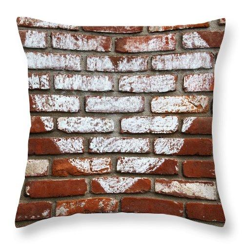 Love Bricks Throw Pillow For Sale By Guy Shultz