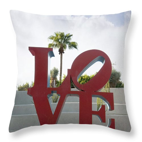 Scottsdale Throw Pillow featuring the photograph Love In A Summer Landscape by Brenda Kean