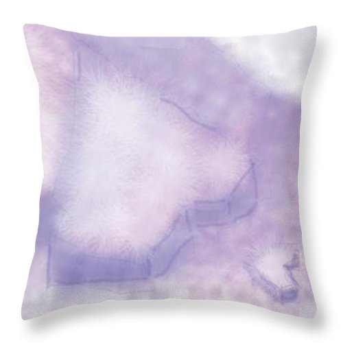 Heart Throw Pillow featuring the digital art Love Will Show Itself by Leaha Gregory