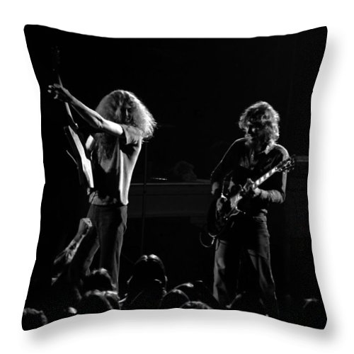 Lynyrd Skynyrd Throw Pillow featuring the photograph Ls Spo #18 by Ben Upham