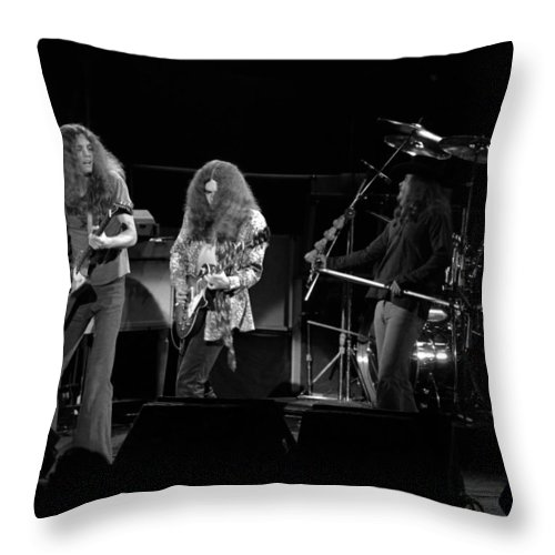 Lynyrd Skynyrd Throw Pillow featuring the photograph Ls Spo #21 Crop 2 by Ben Upham