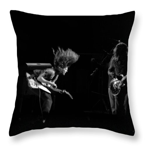 Lynyrd Skynyrd Throw Pillow featuring the photograph Ls Spo #22 by Ben Upham