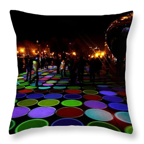 Luminous Field Throw Pillow featuring the photograph Luminous Field by Sue Conwell