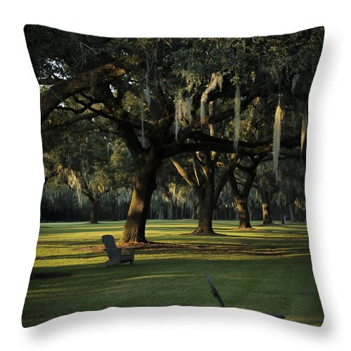 Throw Pillow featuring the photograph Manresa II by Tony Tribou