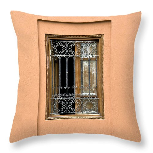 Window Throw Pillow featuring the photograph Marrakech Window by Mick House