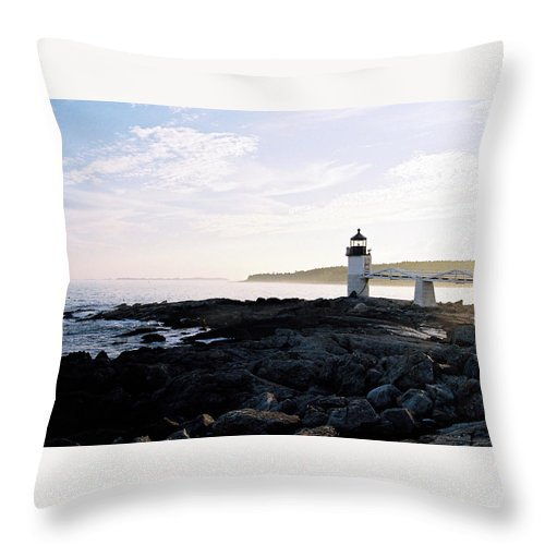 Marshall Point Throw Pillow featuring the photograph Marshall Point Sky by IMH Photog