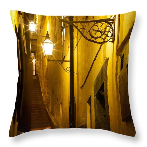 Europe Throw Pillow featuring the photograph Marten Trotzigs Grand by Inge Johnsson