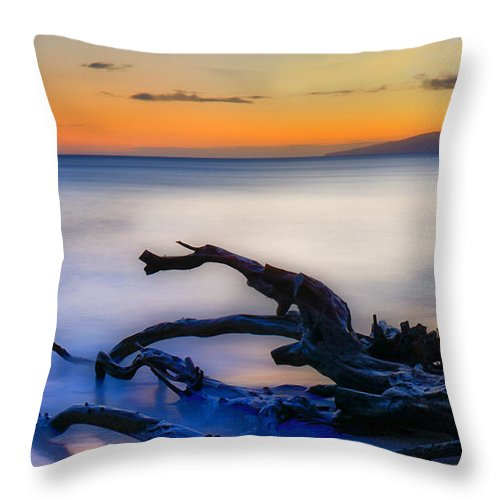 Maui Throw Pillow featuring the photograph Maui Calling by Camille Lopez