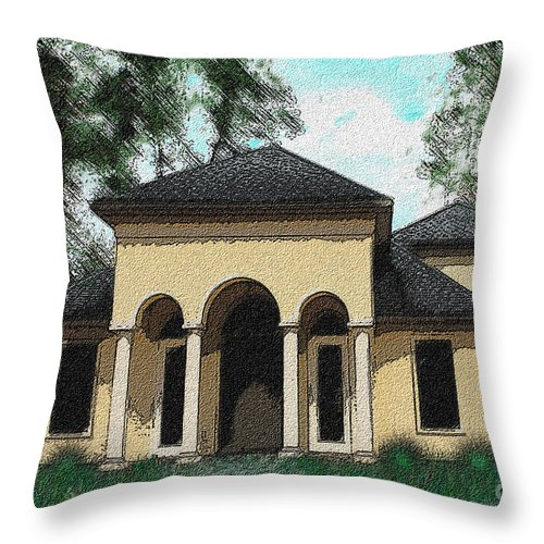 House Throw Pillow featuring the painting Mc 2012 by Thomas Oliver