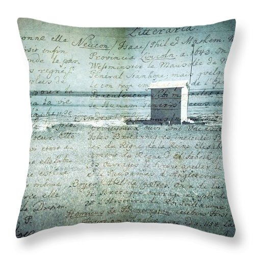 Mood Throw Pillow featuring the photograph Memories... by Vittorio Chiampan