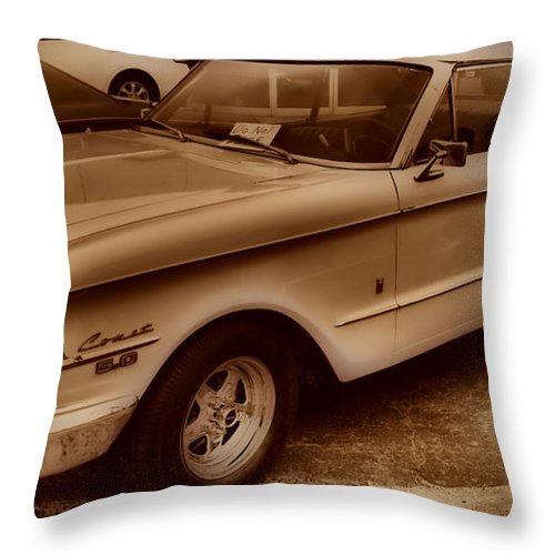 Mercury Comet Throw Pillow featuring the photograph Mercury Comet by Thomas MacPherson Jr