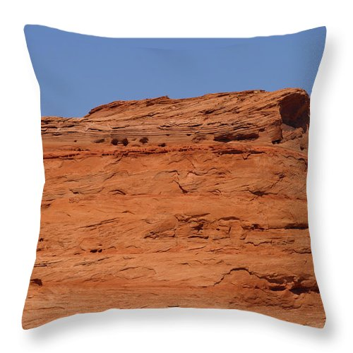 America Throw Pillow featuring the photograph Mesa by Scott Sanders