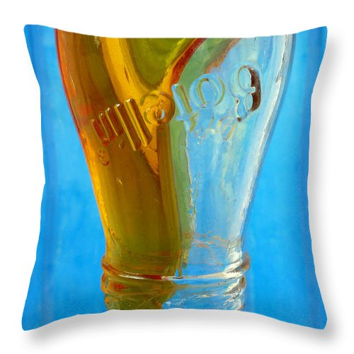 Skip Hunt Throw Pillow featuring the photograph Miel by Skip Hunt