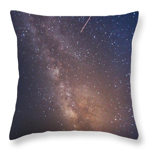 Majestic Throw Pillow featuring the photograph Milky Way by Luca Libralato Photography