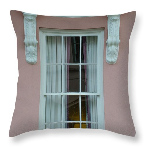 Mills House Throw Pillow featuring the photograph Mills House Window by Dale Powell