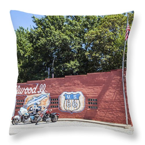 Throw Pillow featuring the photograph Milwood 66 by Jonathan Clarke
