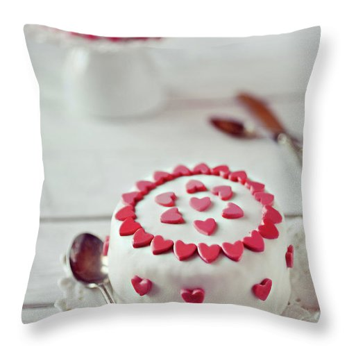 Temptation Throw Pillow featuring the photograph Mini Tortine by Uccia photography