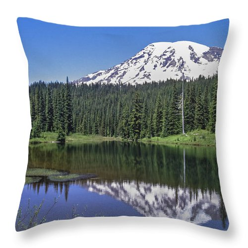 Mirror Throw Pillow featuring the photograph Mirror by Kelley King