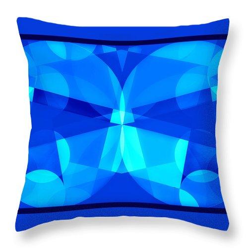 Geometric Art Throw Pillow featuring the photograph Mod 153 by Aurelio Zucco