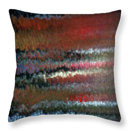 Colors Throw Pillow featuring the photograph Mon Hommage A Rothko by Steven Huszar