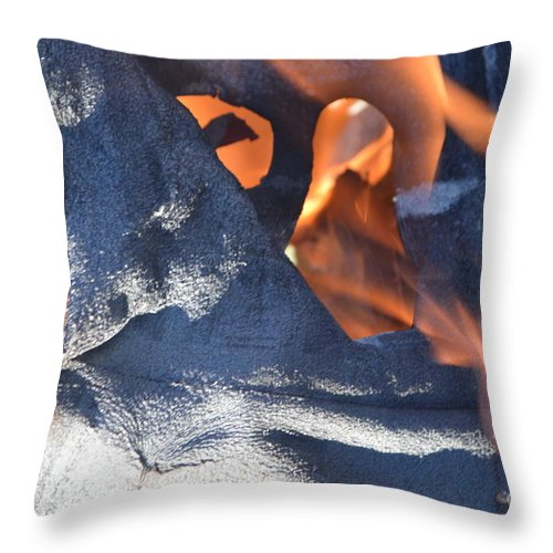 Monkey Throw Pillow featuring the photograph Monkey See by Brian Boyle