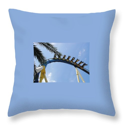 Montu Throw Pillow featuring the photograph Montu by David Nicholls