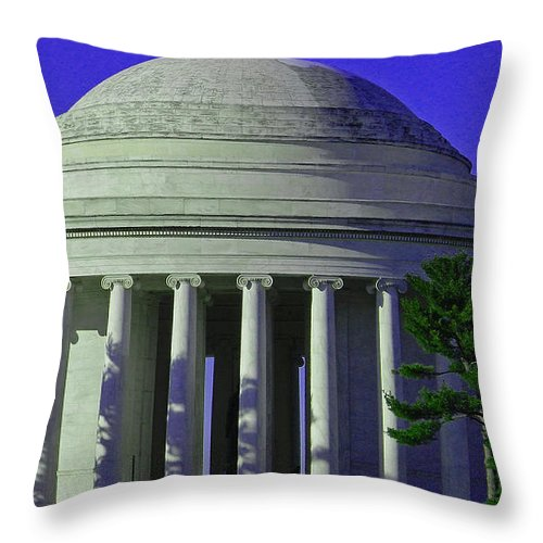 Monumental Beauties Throw Pillow featuring the photograph Monumental Beauties by Emmy Vickers