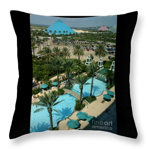 Vacation Throw Pillow featuring the photograph Moody9728 by Gary Gingrich Galleries