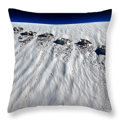 Moonwalking Throw Pillow featuring the photograph Moonwalking by Julian Cook